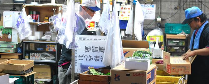 北清商店の卸職人