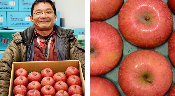 雪室(ゆきむろ)りんご