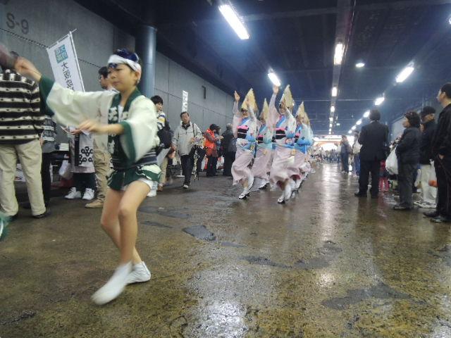 徳島・阿波踊り『天水連』の入場