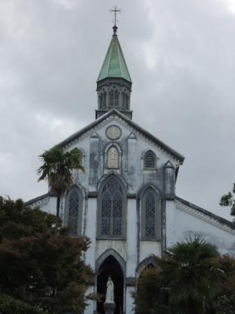 国宝の大浦天主堂 現存する日本最古の教会なんだそうです