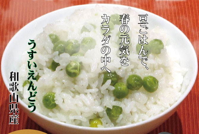 うすいえんどう 和歌山県産