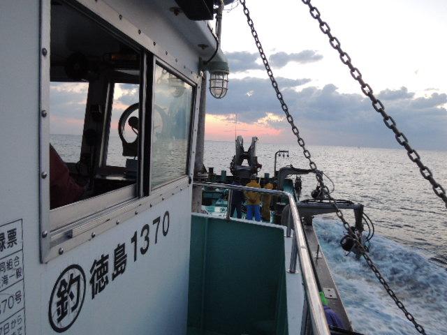 """かくして、徳島南部を2日間、駆け足で巡った""""漁場遍路隊""""は、 家路へとつくのでした。"""