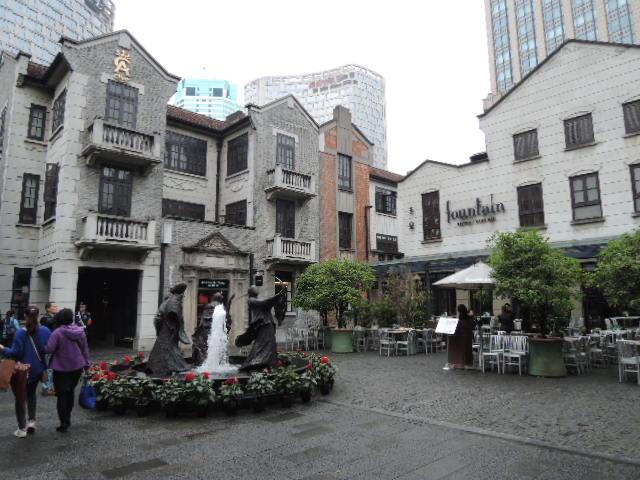 いまや上海でも指折りのオシャレな街に変貌した新天地